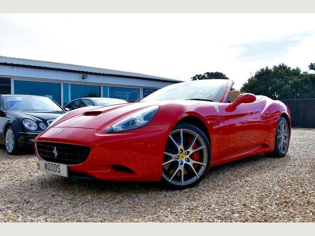 Ferrari California Convertible 4.3 F1 DCT 2dr