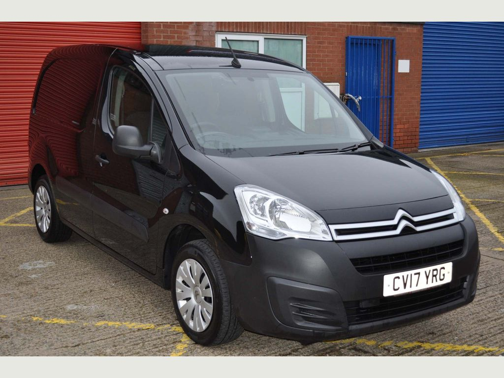 Citroen Berlingo Panel Van enterprise blue hdi