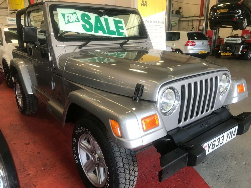 Jeep Wrangler Convertible 4.0 60th Anniversary Soft top 4x4 3dr