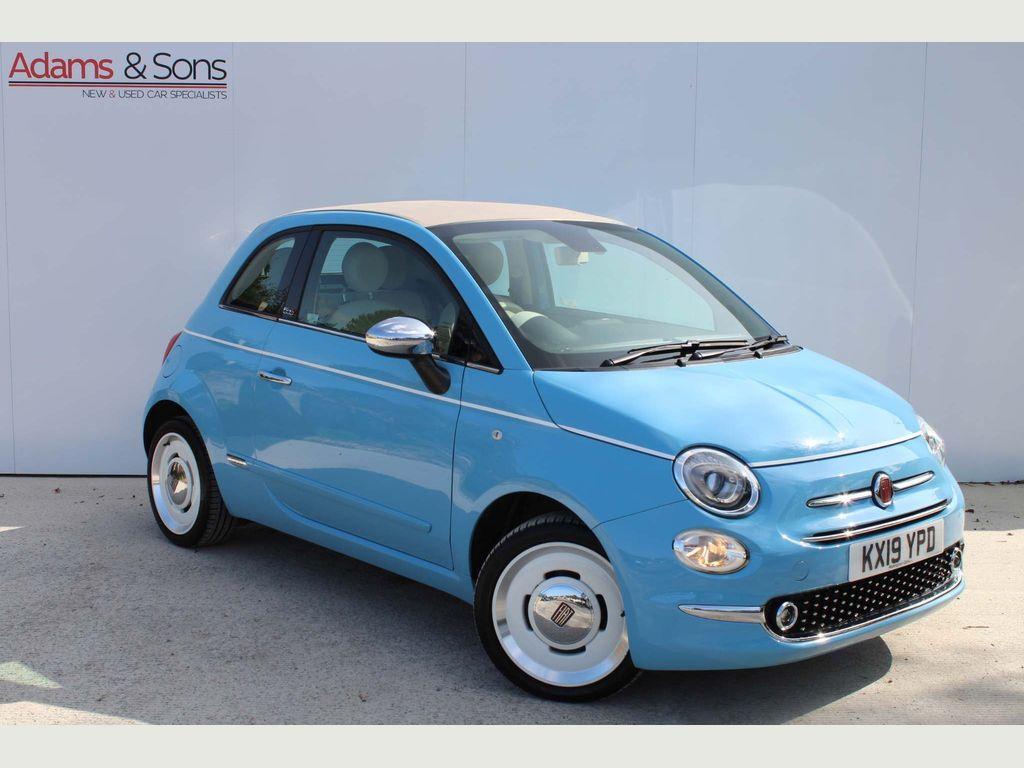 Fiat 500C Convertible 1.2 8V Spiaggina 58 (s/s) 2dr