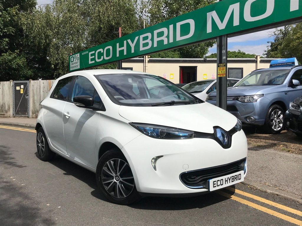 Renault Zoe Hatchback 22kWh Expression Auto 5dr (Battery Lease)