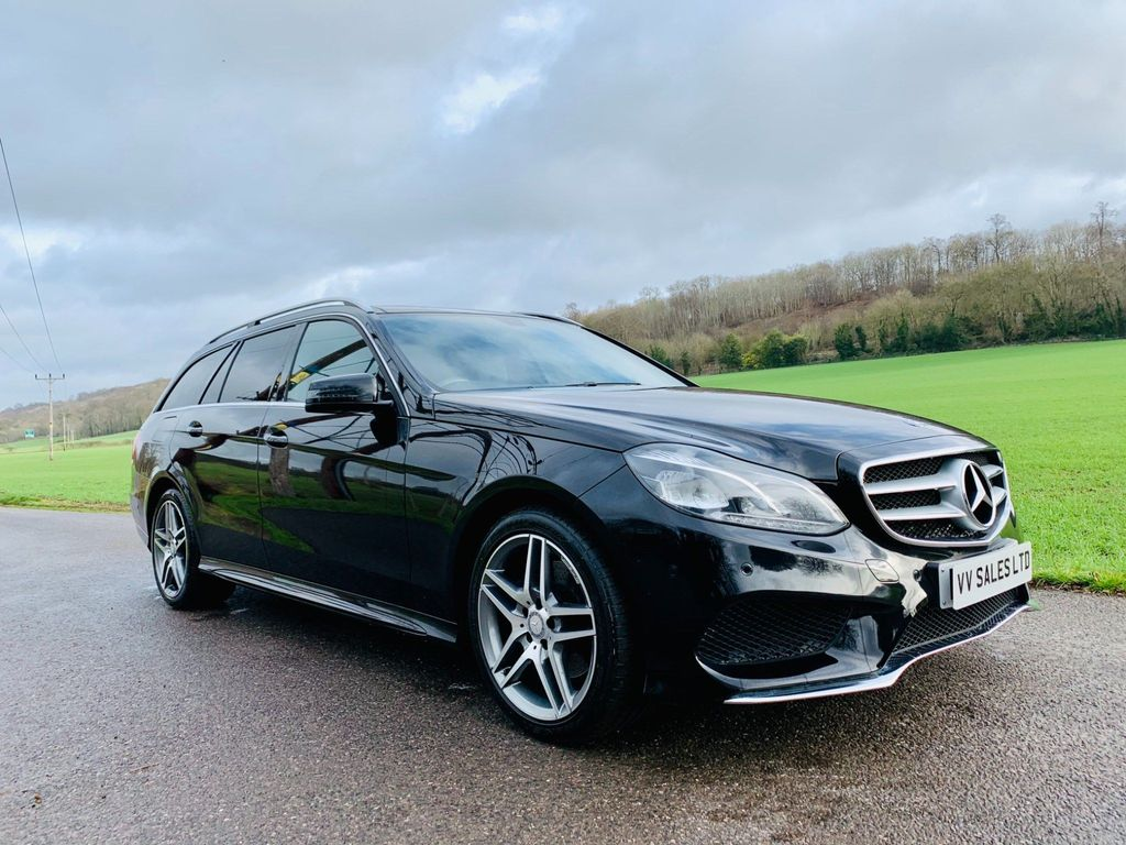 Mercedes-Benz E Class Estate 2.1 E250 CDI AMG Line 7G-Tronic Plus 5dr