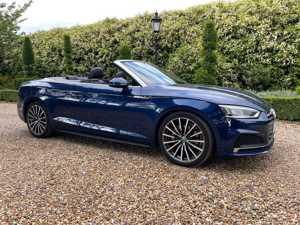 Audi A5 Cabriolet Convertible 2.0 TDI S line Cabriolet S Tronic (s/s) 2dr