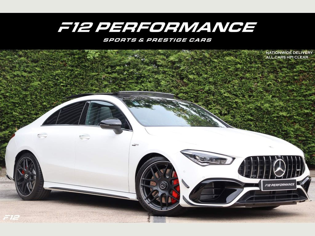 Mercedes-Benz CLA Class Coupe 2.0 CLA45 AMG S Plus 8G-DCT 4MATIC+ (s/s) 4dr