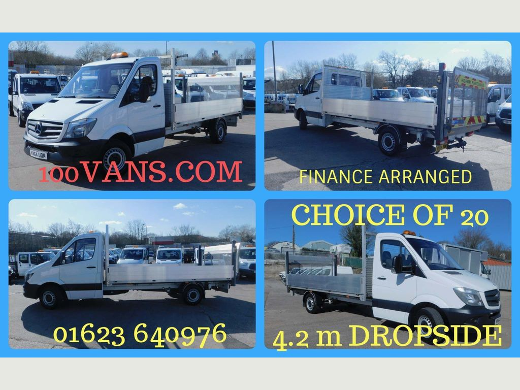 Mercedes-Benz Sprinter Dropside 2.1CDI 313 130PS LWB DROPSIDE TAIL LIFT