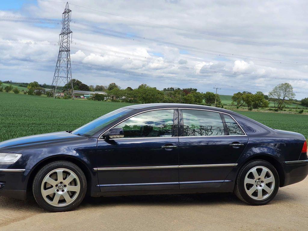 Volkswagen Phaeton Saloon 3.0 TDI V6 4MOTION 4dr (5 Seats)