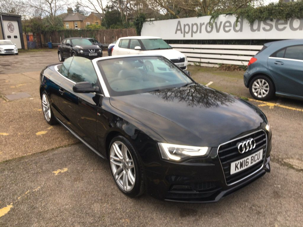 Audi A5 Cabriolet Convertible 2.0 TFSI S line Special Edition Plus Cabriolet (s/s) 2dr