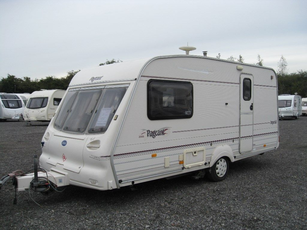 Bailey PAGEANT IMPERIAL Tourer 2000 2 BERTH WITH MOTOR MOVER
