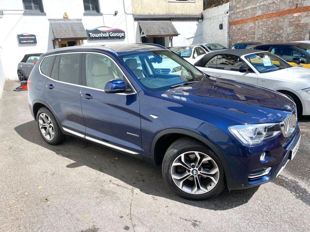 BMW X3 SUV 2.0 20d xLine Auto xDrive 5dr