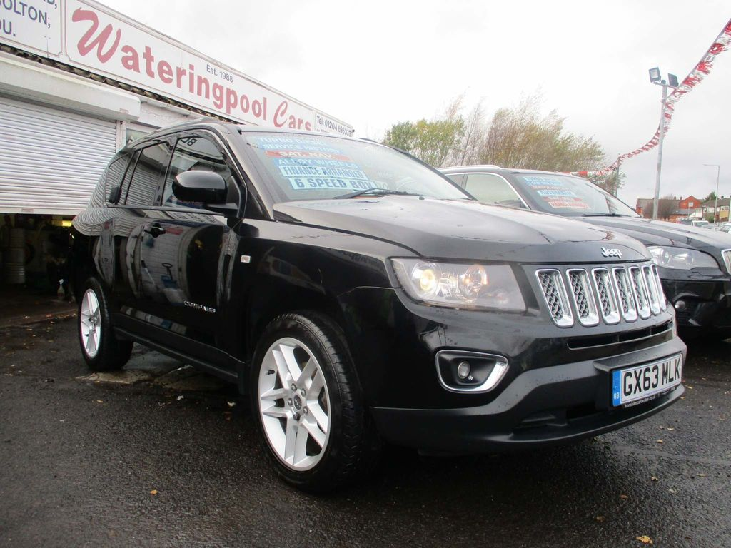 Jeep Compass SUV 2.2 CRD Limited 4x4 5dr
