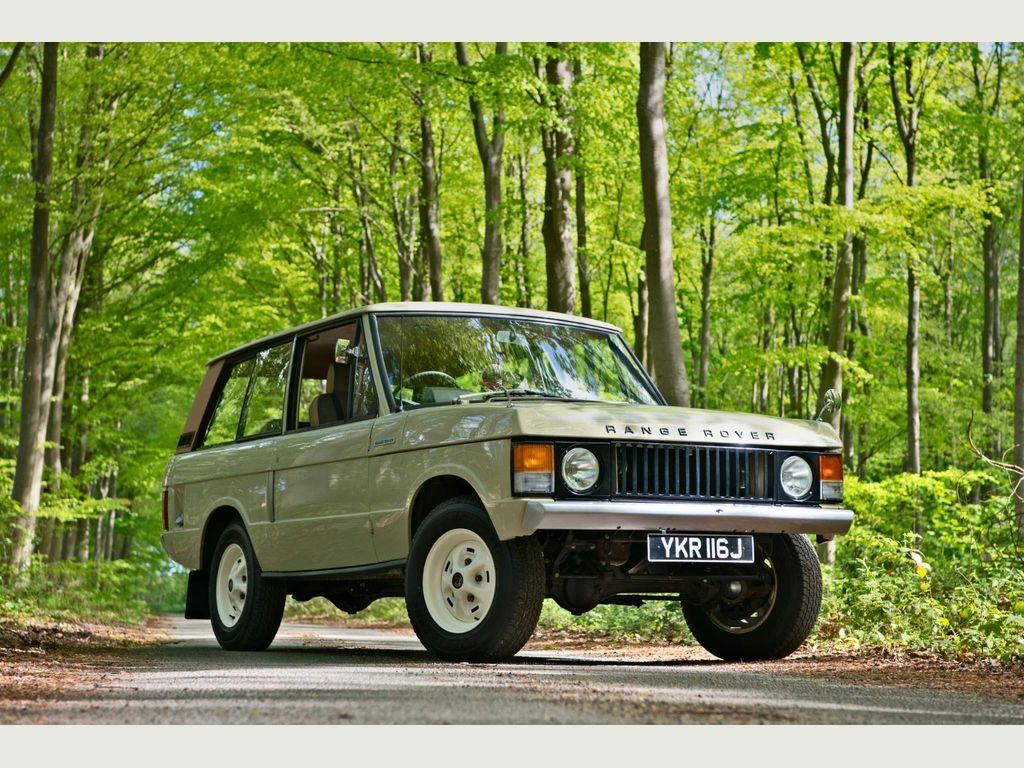 Land Rover Range Rover SUV 3.5 V8 3dr