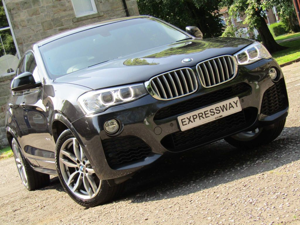 BMW X4 SUV 3.0 35d M Sport Auto xDrive (s/s) 5dr