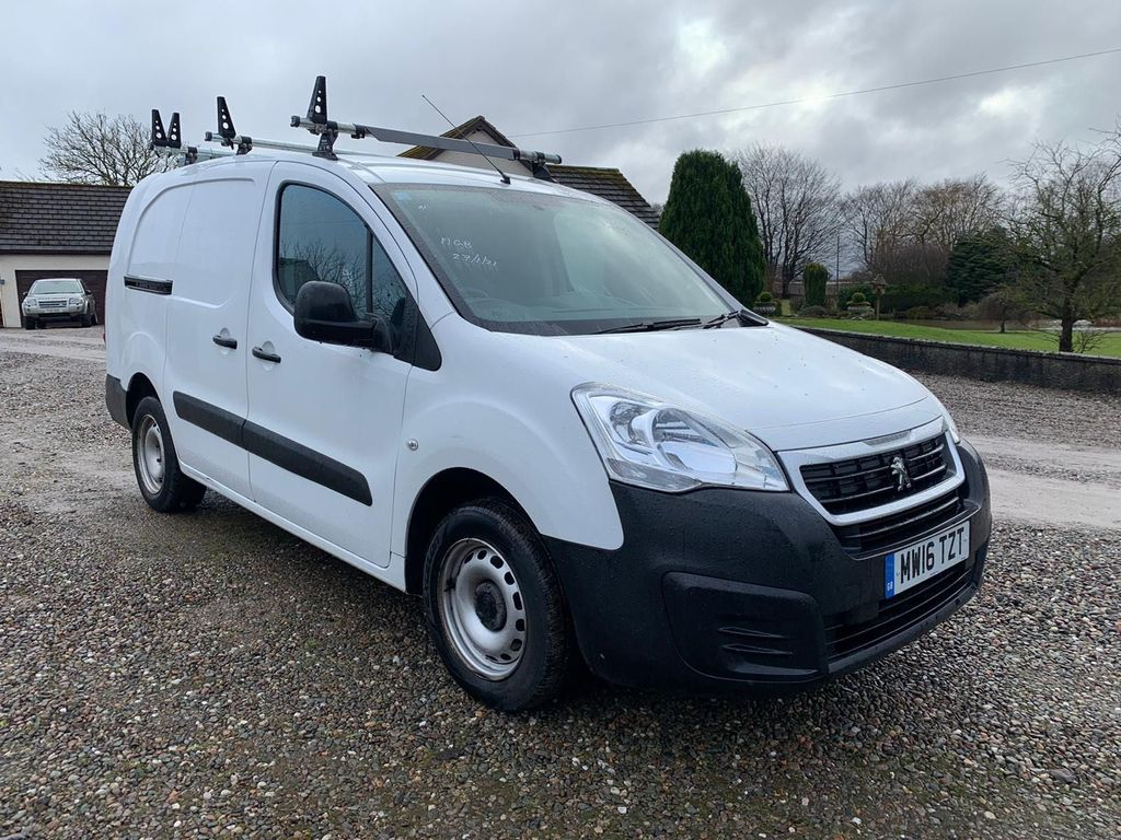 Peugeot Partner Panel Van 1.6 BlueHDi (Eu6) SE L2 750 LWB (s/s) 4dr