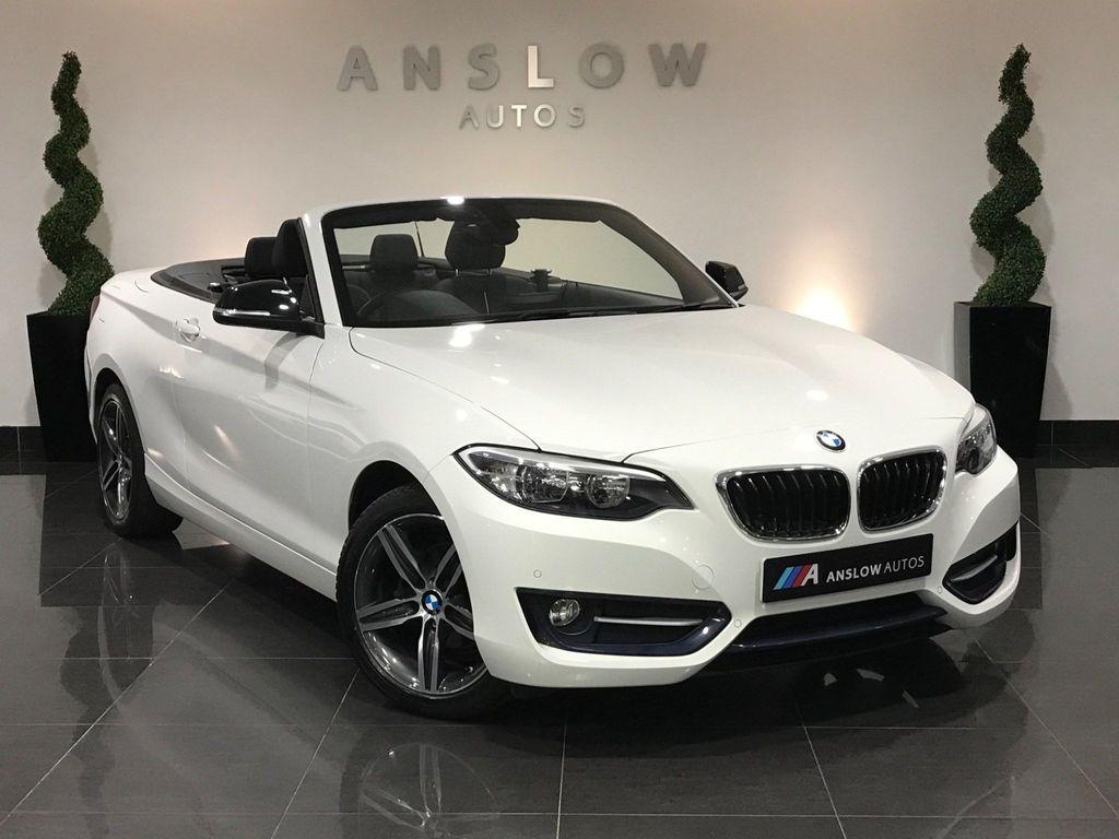 BMW 2 Series Convertible 2.0 218d Sport (s/s) 2dr