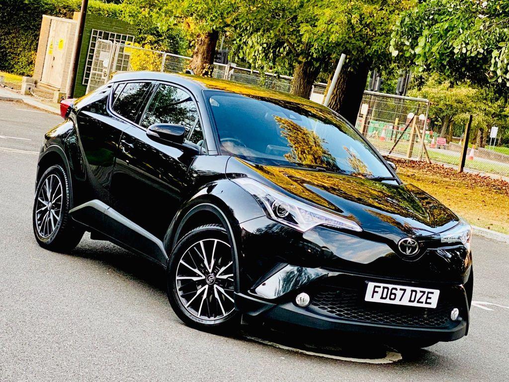 Toyota C-HR SUV 1.2 VVT-i Excel CVT (s/s) 5dr