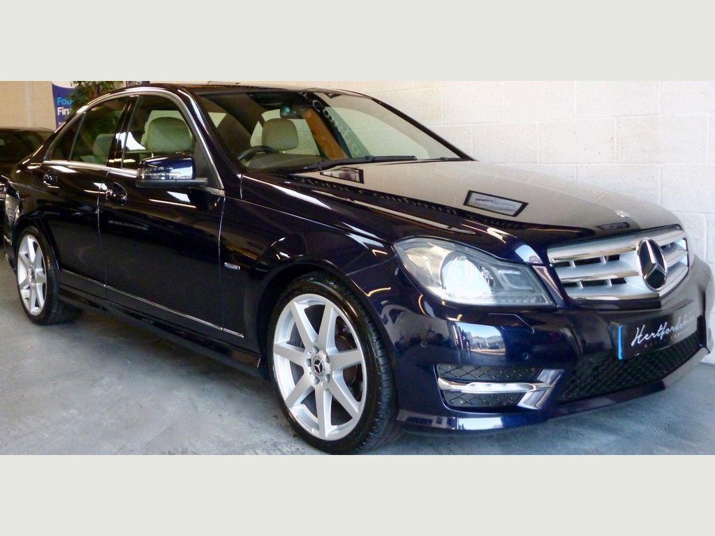Mercedes-Benz C Class Saloon 2.1 C250 CDI BlueEFFICIENCY Sport 7G-Tronic 4dr (COMAND)