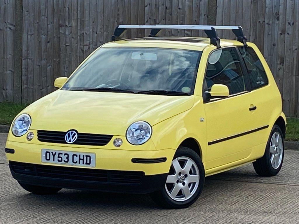 Volkswagen Lupo Hatchback 1.4 E 3dr