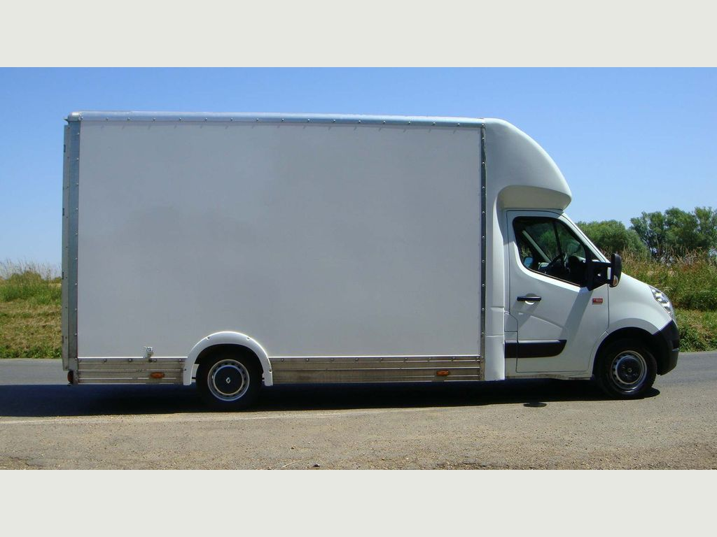 Renault Master Luton 14FT LOW LO LOADER LUTON BOX VAN 125BHP