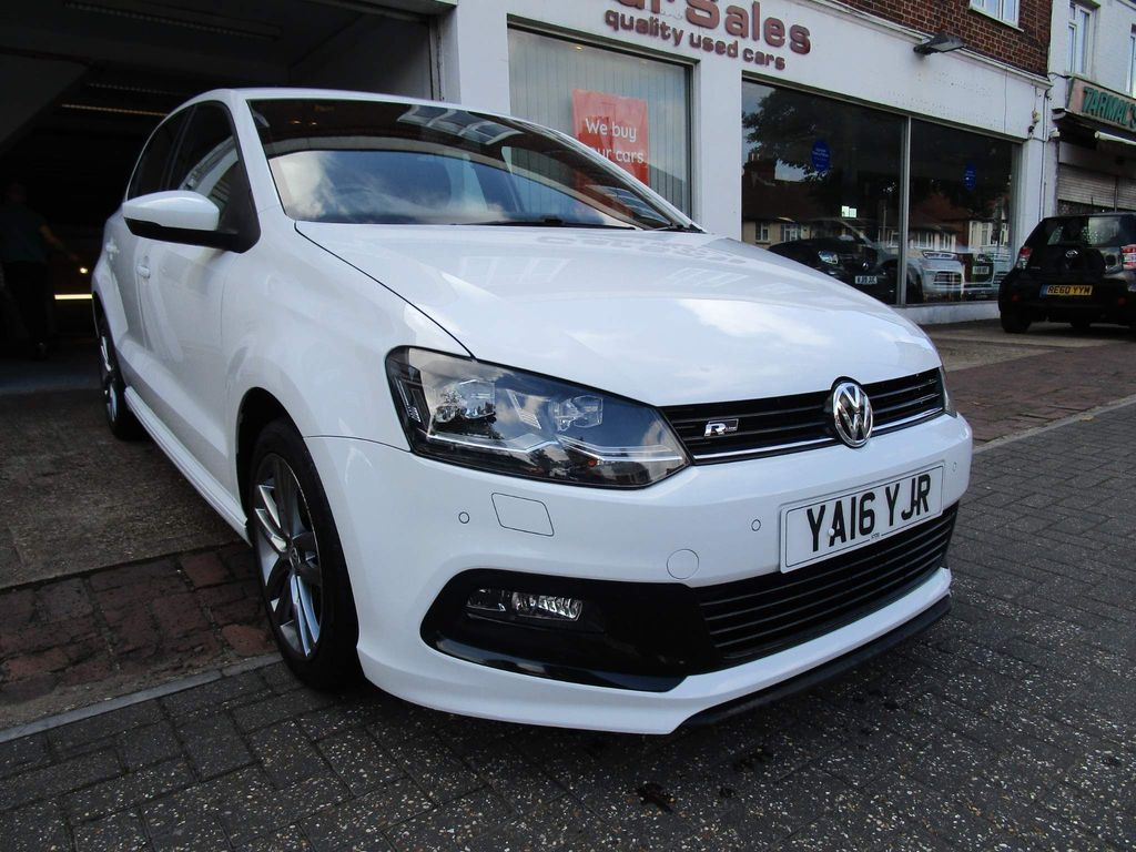 Volkswagen Polo Hatchback 1.0 TSI BlueMotion Tech R-Line (s/s) 5dr