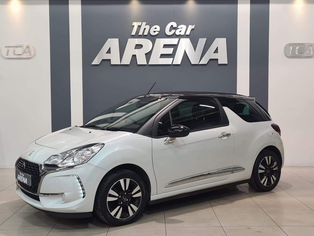 DS AUTOMOBILES DS 3 CABRIO Convertible 1.6 BlueHDi Chic Cabriolet (s/s) 2dr