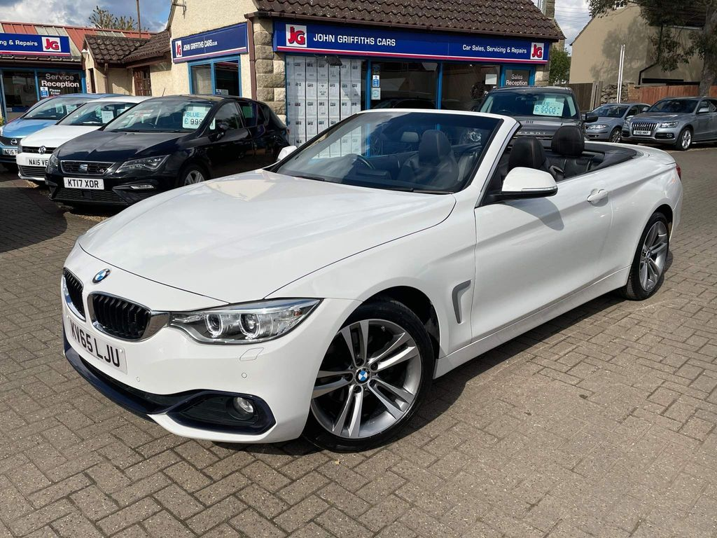 BMW 4 Series Convertible 2.0 420d Sport Auto 2dr