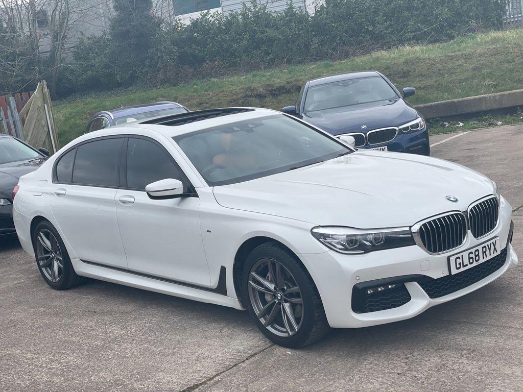 BMW 7 Series Saloon 3.0 740Ld M Sport Auto xDrive (s/s) 4dr