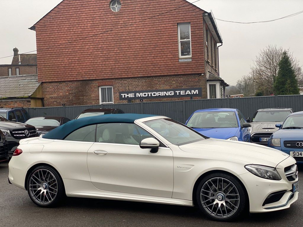 Mercedes-Benz C Class Convertible 4.0 C63 V8 BiTurbo AMG (Premium) Cabriolet SpdS MCT (s/s) 2dr
