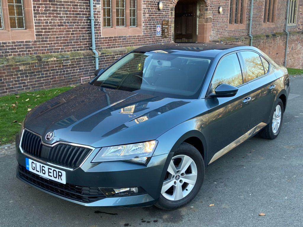 SKODA Superb Hatchback 1.6 TDI CR DPF S DSG (s/s) 5dr