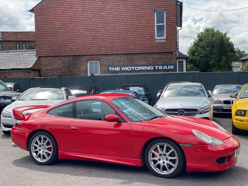 Porsche 911 Coupe 3.4 996 Carrera 4 AWD 2dr