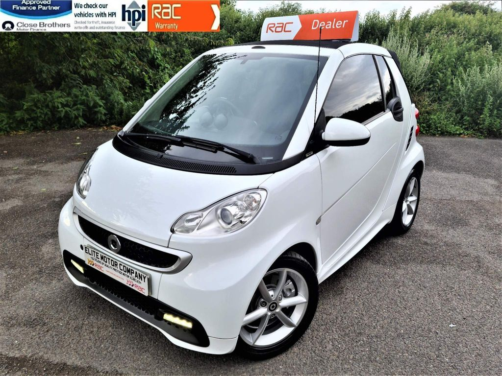 Smart fortwo Convertible 1.0 MHD Edition21 Cabriolet Softouch 2dr