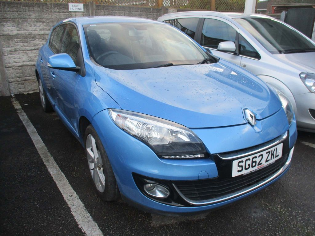 Renault Megane Hatchback 1.6 16v Dynamique Tom Tom 5dr (Tom Tom)