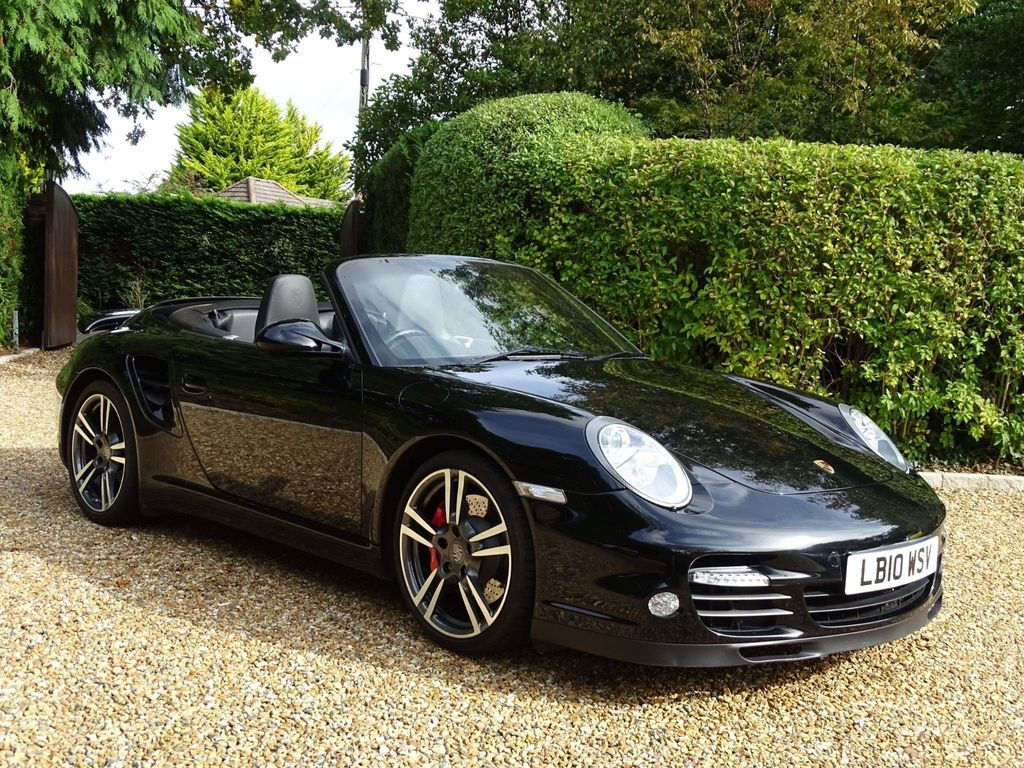 PORSCHE 911 Convertible 3.8 997 Turbo Cabriolet PDK AWD 2dr