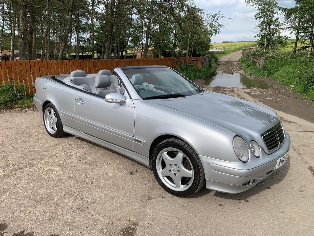 Mercedes-Benz CLK Convertible 4.3 CLK430 Elegance Cabriolet 2dr