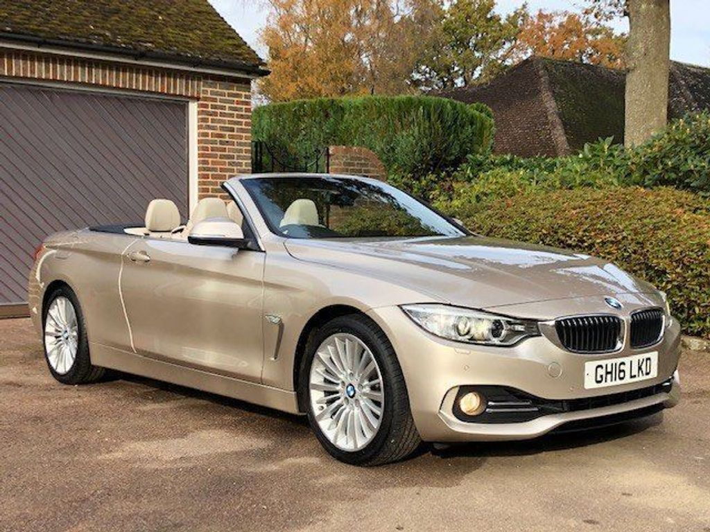 BMW 4 Series Convertible 2.0 420i Luxury 2dr