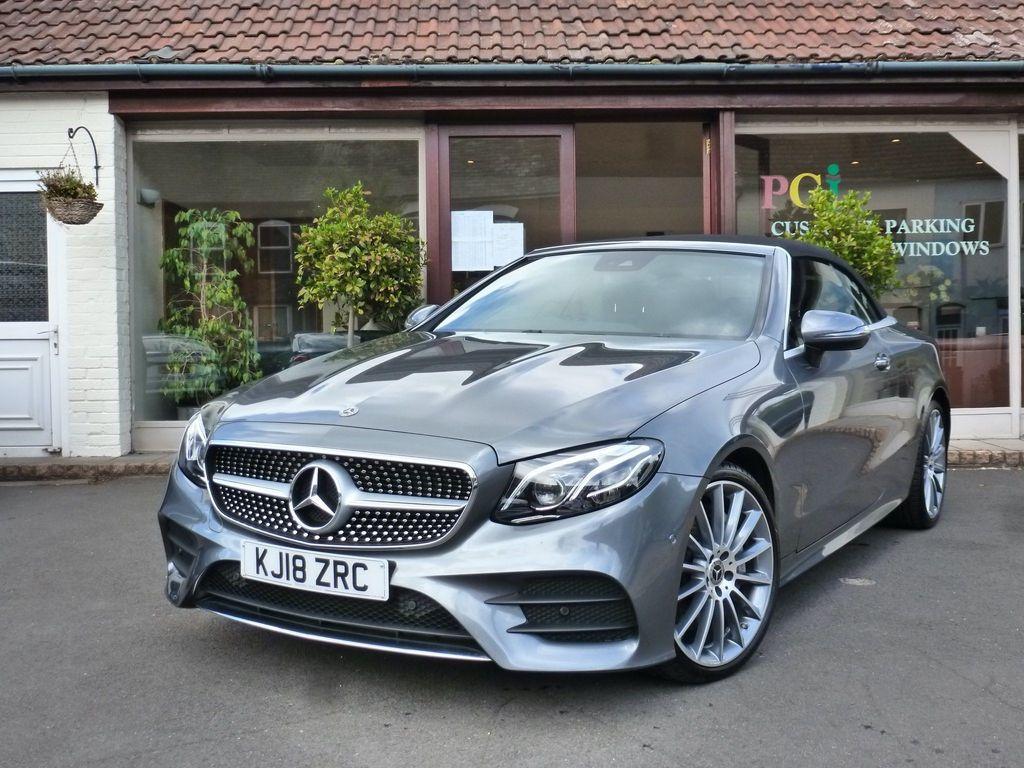 Mercedes-Benz E Class Convertible 3.0 E350d V6 AMG Line (Premium Plus) Cabriolet G-Tronic+ 4MATIC (s/s) 2dr