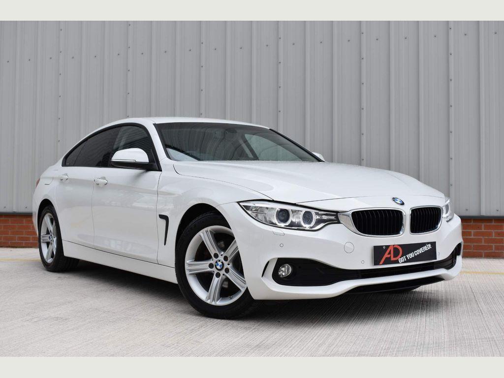 BMW 4 Series Gran Coupe Hatchback 2.0 418d SE Gran Coupe Auto (s/s) 5dr