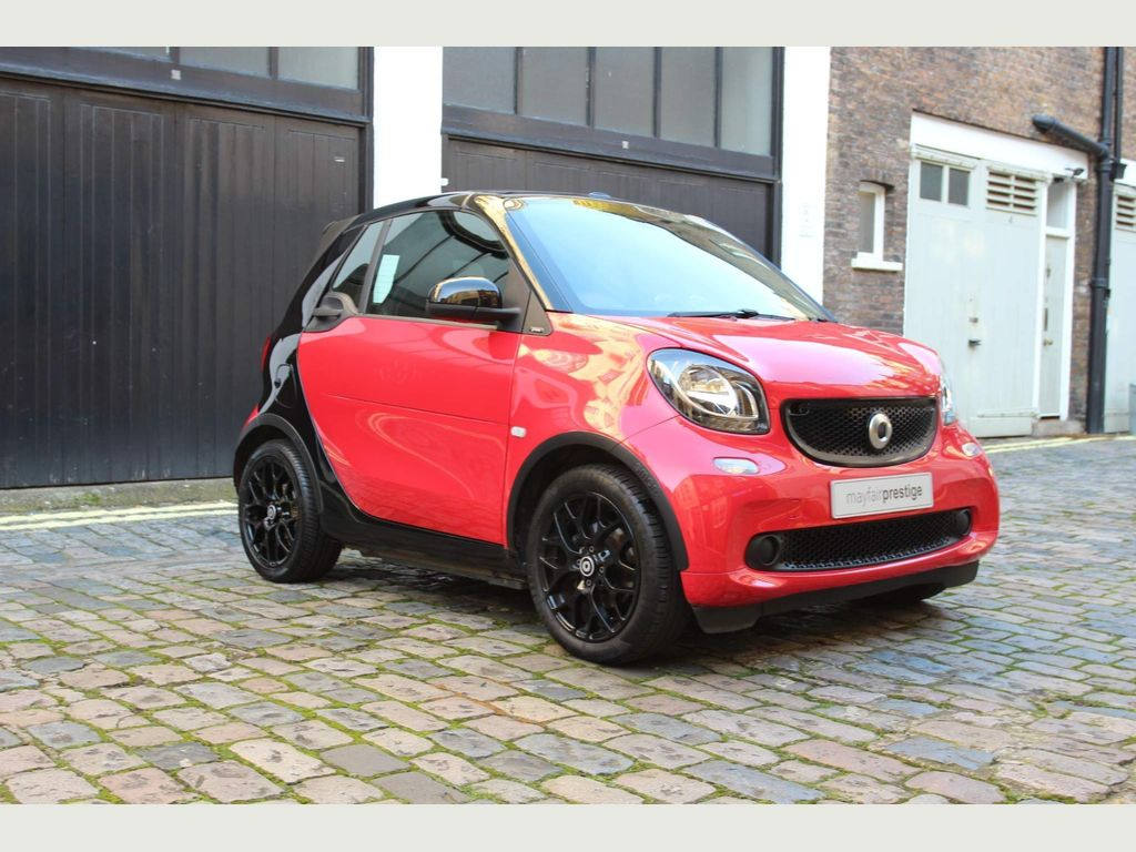 Smart fortwo Convertible 1.0 Prime Sport Cabriolet Twinamic (s/s) 2dr