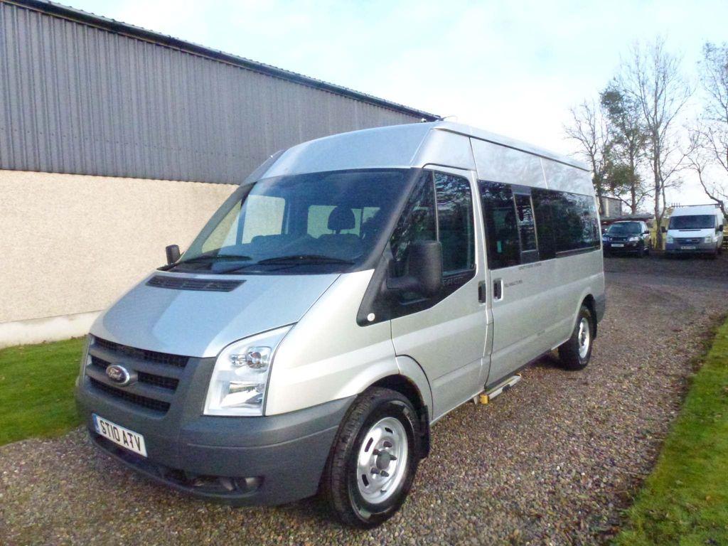 Ford Transit Minibus 2.4 TDCi 350 Duratorq Medium Roof Bus L 4dr (15 Seats, LWB)