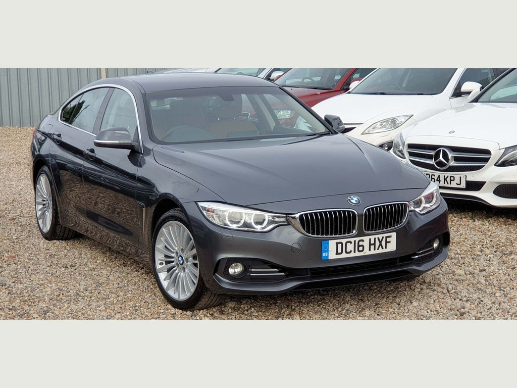 BMW 4 Series Gran Coupe Coupe 3.0 430d Luxury Gran Coupe Sport Auto xDrive (s/s) 5dr