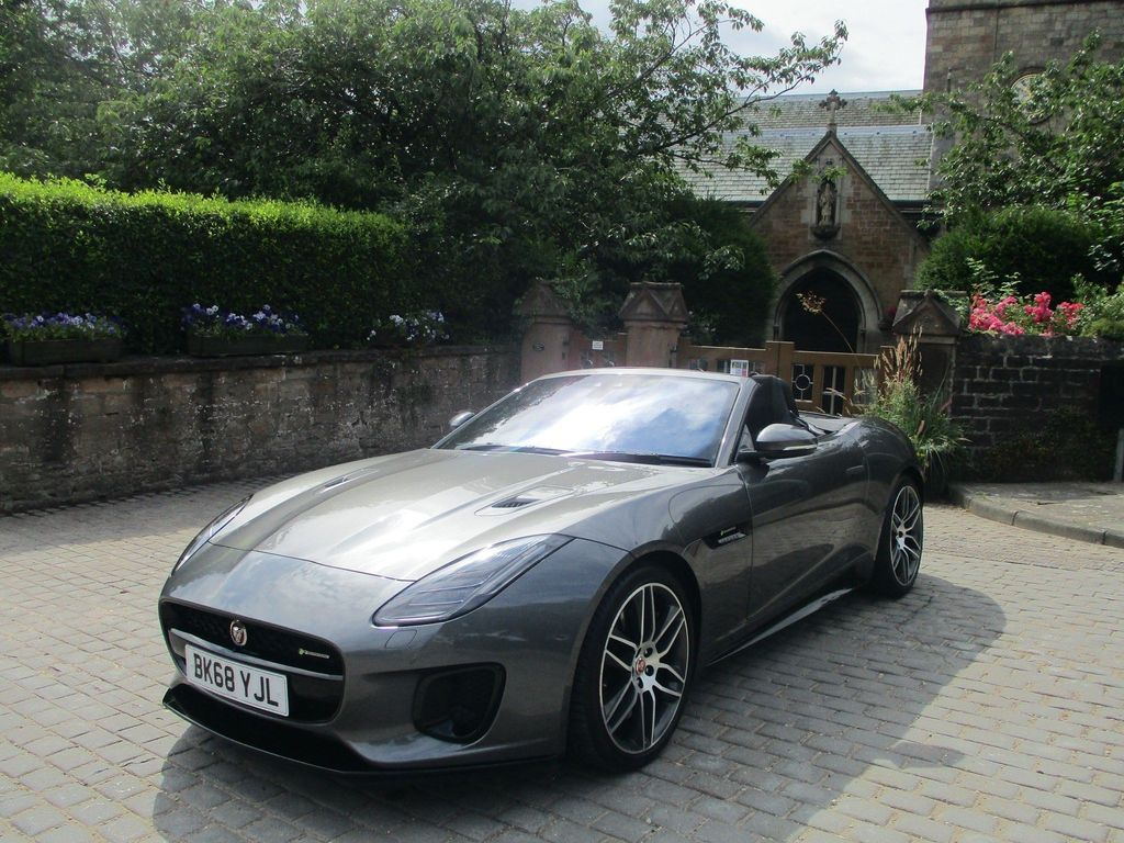Jaguar F-Type Convertible 3.0 V6 R-Dynamic Auto AWD (s/s) 2dr