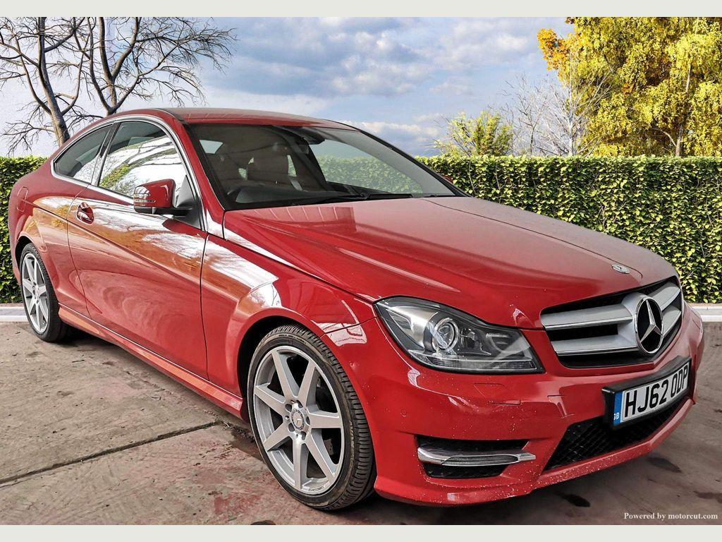 Mercedes-Benz C Class Coupe 2.1 C250 CDI BlueEFFICIENCY AMG Sport 2dr (Map Pilot)