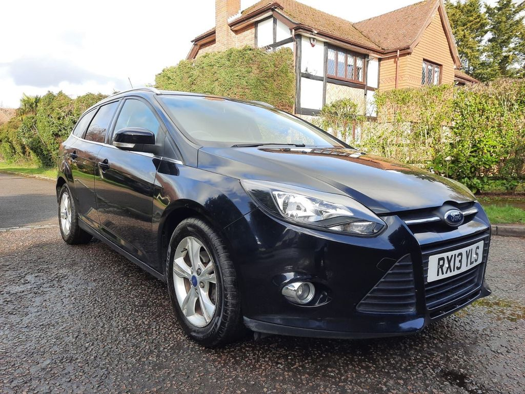 Ford Focus Estate 1.6 Ti-VCT Zetec Powershift 5dr