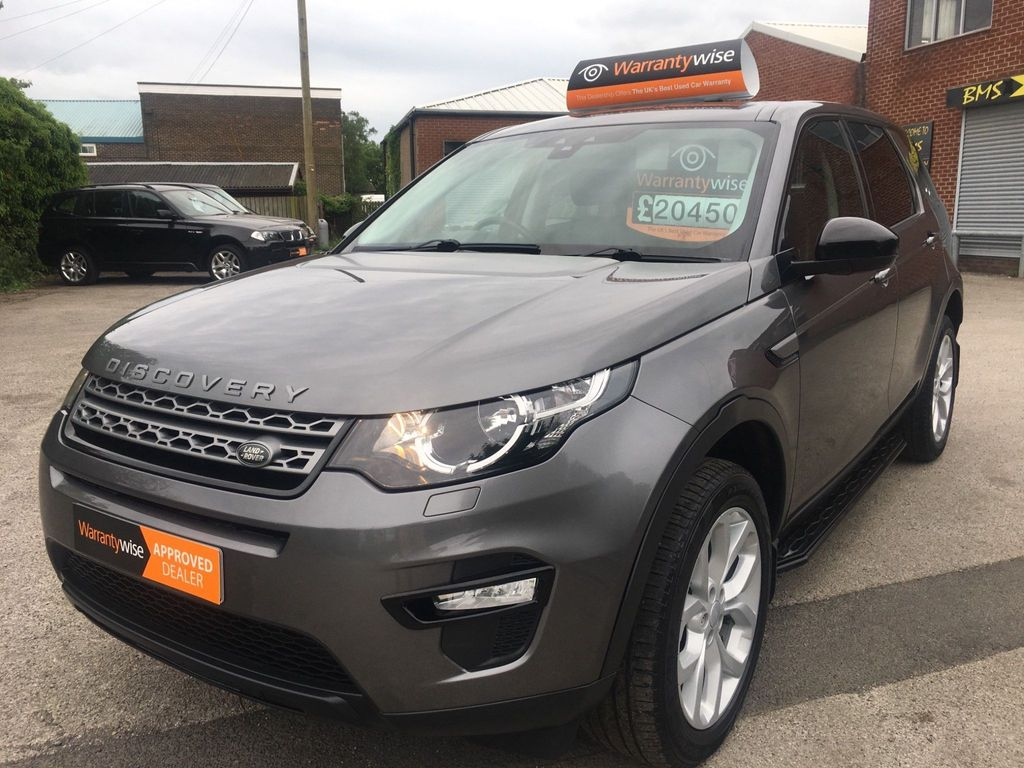 Land Rover Discovery Sport SUV 2.0 TD4 Pure Edition 4WD (s/s) 5dr (5 Seat)