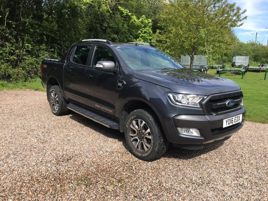 Ford Ranger Pickup 3.2 TDCi Wildtrak Double Cab Pickup 4WD (s/s) 4dr
