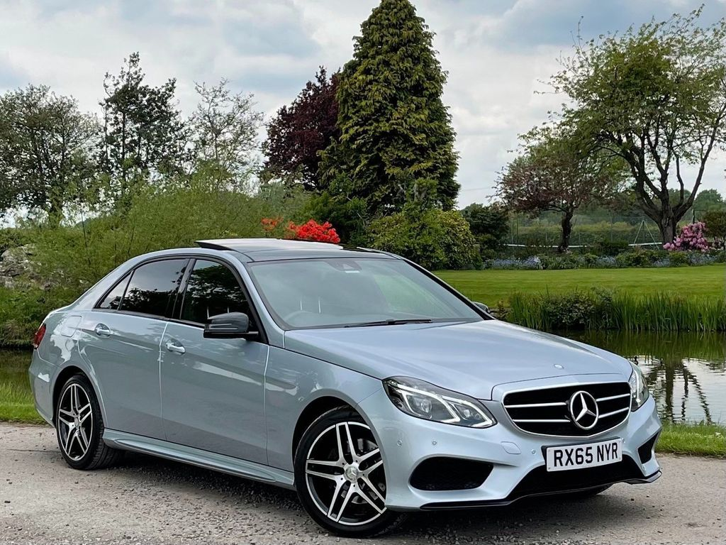 Mercedes-Benz E Class Saloon 2.1 E220 CDI BlueTEC AMG Night Edition (Premium) 7G-Tronic Plus 4dr