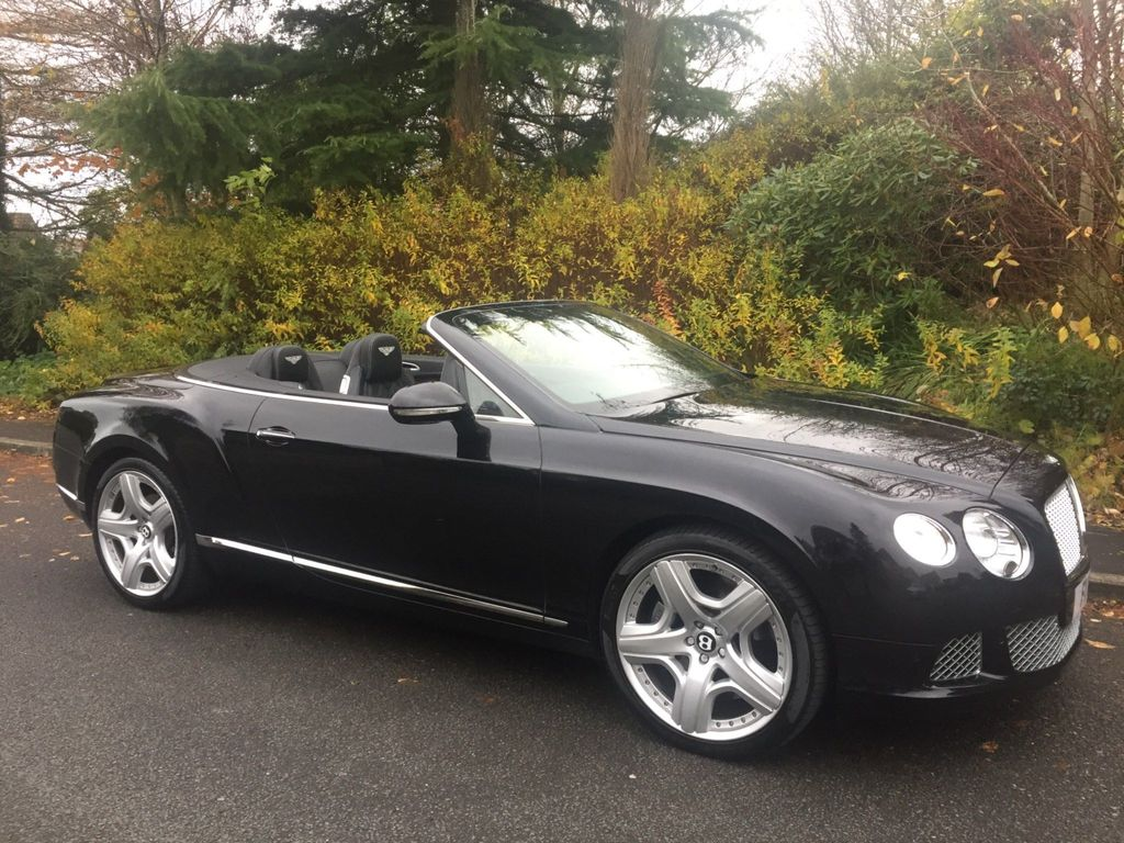 Bentley Continental Convertible 6.0 W12 GTC Auto 4WD 2dr