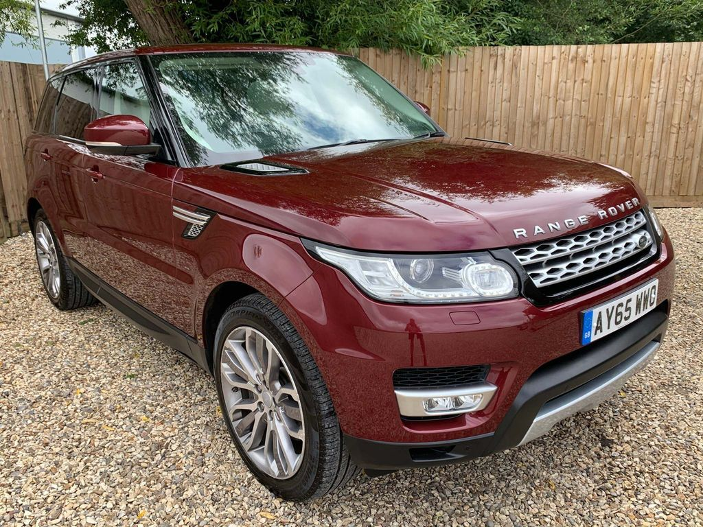 Land Rover Range Rover Sport SUV 3.0 SD V6 HSE SDV6 7 SEATER - SUV Diesel Automatic 4X4 (s/s) (185 g/km, 306 bhp)
