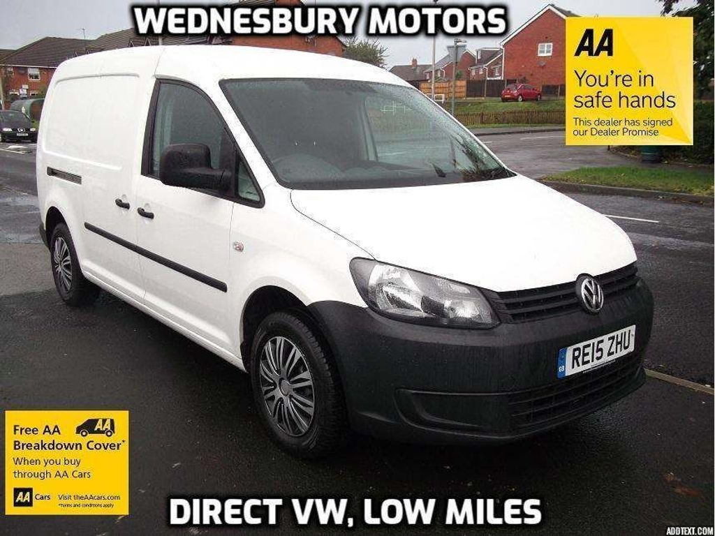 Volkswagen Caddy Panel Van 1.6TDI C20 Startline Maxi 6 Door