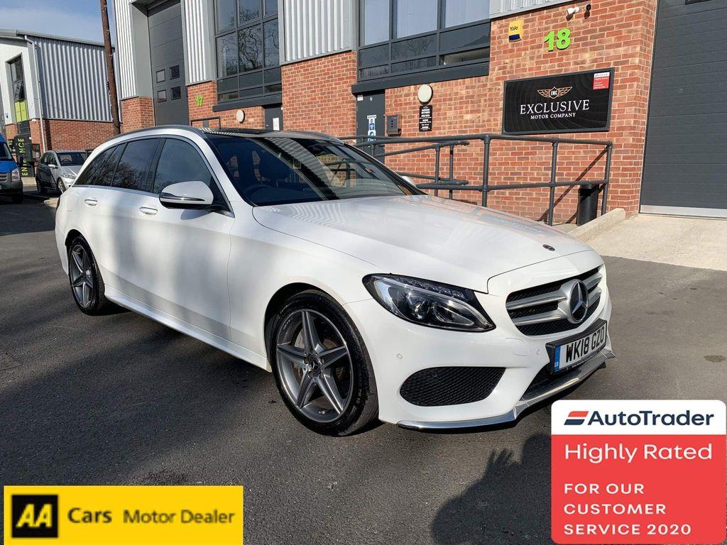 Mercedes-Benz C Class Estate 2.1 C250d AMG Line (Premium Plus) G-Tronic+ (s/s) 5dr