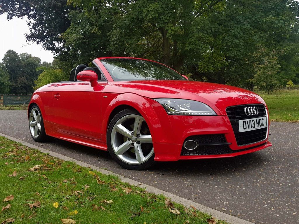 Audi TT Convertible 2.0 TFSI S line Roadster S Tronic quattro 2dr